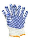 Рабочие перчатки хб с ПВХ 6 нитей 10пар