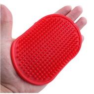 Щетка массажная на руку для вычесывания шерсти