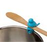 Держатель для ложки на край посуды, силикон