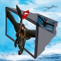 3D-экран для телефона Enlarged screen