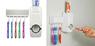 Органайзер-дозатор для пасты и зубных щеток.