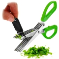 Ножницы для зелени + щеточка для лезвий.